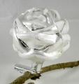 6 cm Rose auf Clip, 6-fach