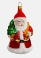 Weihnachtsmann mit Baum und Sack, Einzelverpackung