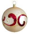 10 cm Kugel, Sortiment orientalischer Zauber, 2-fach